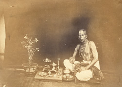 Portrait of a Brahmin of the Carnatic, Bombay.